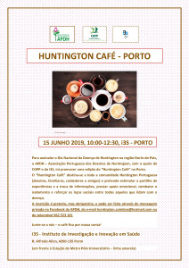 cartaz Huntington Café Porto