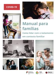 manual para famílias - DGS